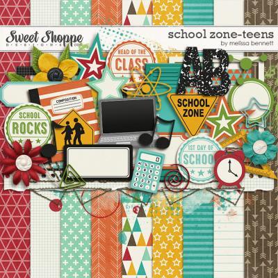School Zone - Teens by Melissa Bennett