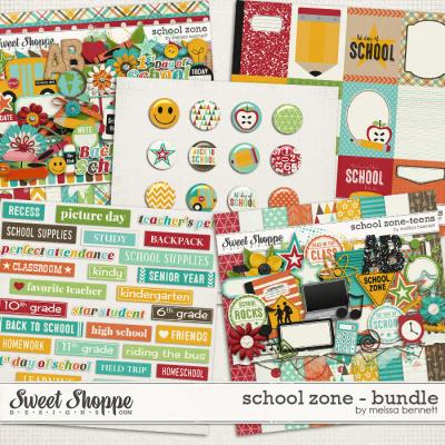 School Zone Bundle by Melissa Bennett
