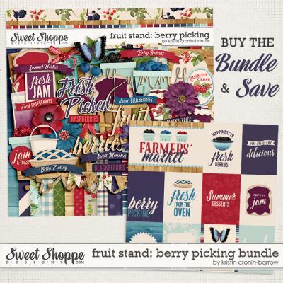 Fruit Stand: Berry Picking Bundle by Kristin Cronin-Barrow