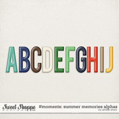 #Moments: Summer Memories Alphas by Amber Shaw