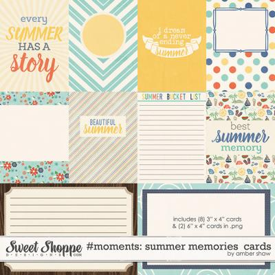 #Moments: Summer Memories Cards by Amber Shaw