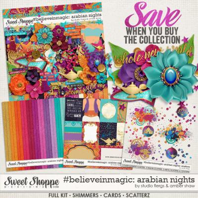 #believeinmagic: Arabian Nights Collection by Amber Shaw & Studio Flergs