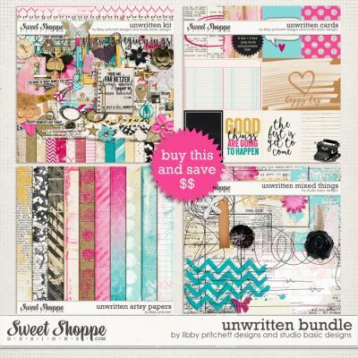 Unwritten Bundle by Studio Basic Designs & Libby Pritchett