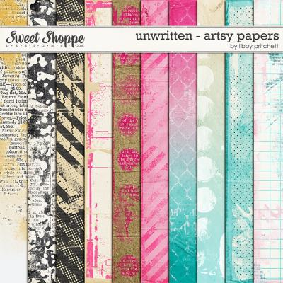 Unwritten Artsy Papers by Libby Pritchett