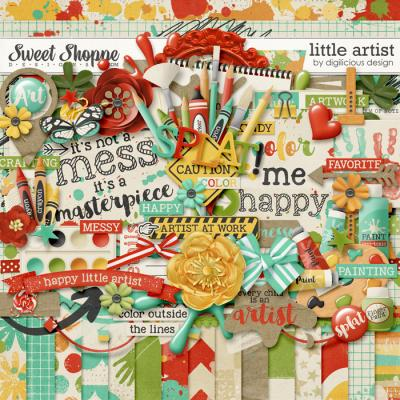 Little Artist Kit by Digilicious Design