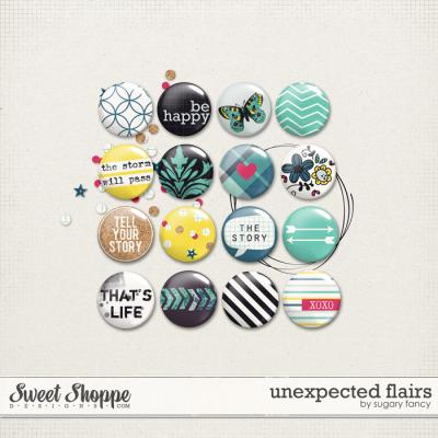 Unexpected Flairs by Sugary Fancy