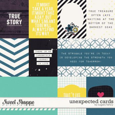 Unexpected Cards by Sugary Fancy