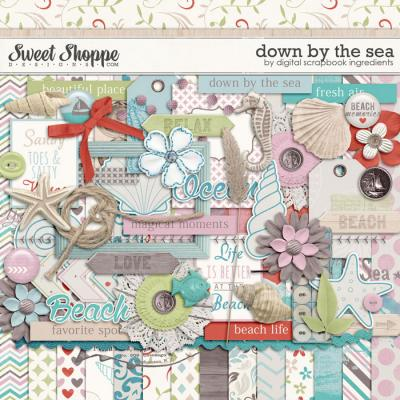 Down By The Sea by Digital Scrapbook Ingredients