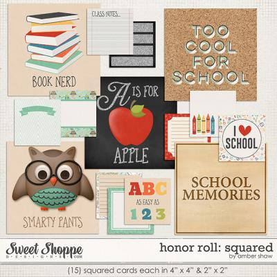 Honor Roll: Squared by Amber Shaw