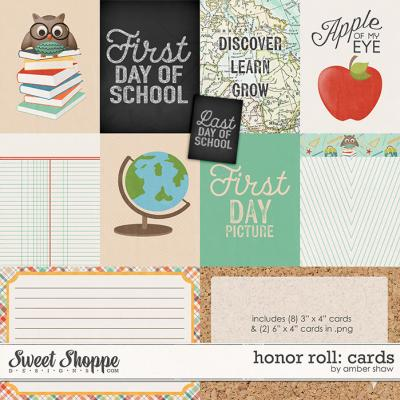 Honor Roll: Cards by Amber Shaw