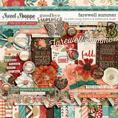 Farewell Summer by Kristin Cronin-Barrow & Tickled Pink Studio