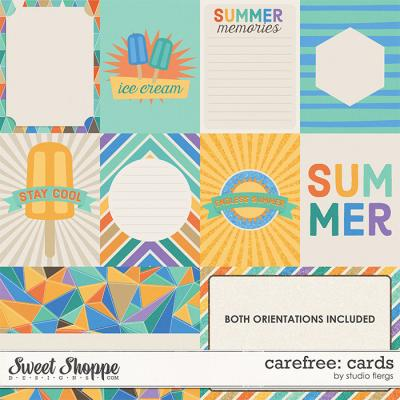 Carefree: CARDS by Studio Flergs