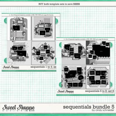 Cindy's Layered Templates - Sequentials Bundle 5 by Cindy Schneider