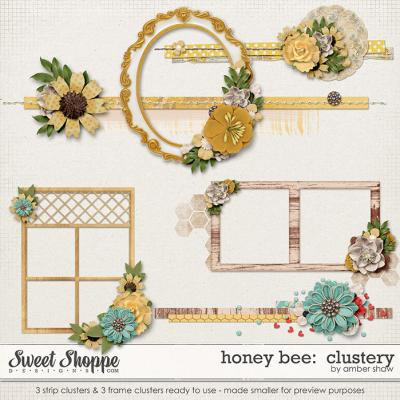 Honey Bee:  Clusters by Amber Shaw