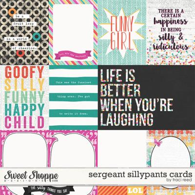 Sergeant Silly Pants Cards by Traci Reed