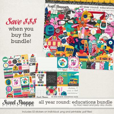 All Year Round: Educations Bundle by Traci Reed and Jady Day Studio
