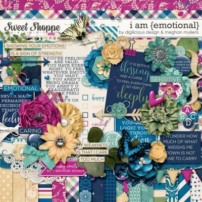 I Am {Emotional} by Digilicious Designs & Meghan Mullens