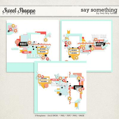 Say Something by Two Tiny Turtles