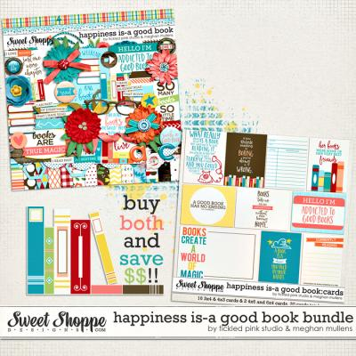 Happiness Is: A Good Book Bundle by Meghan Mullens & Tickled Pink Studio