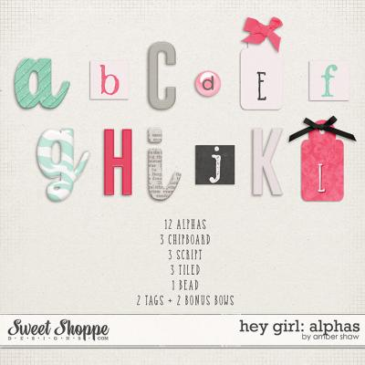 Hey Girl Alphas by Amber Shaw