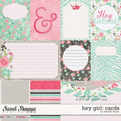 Hey Girl Cards by Amber Shaw