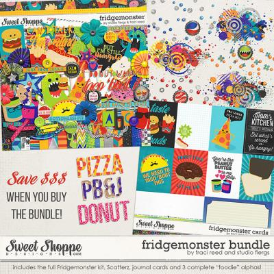 fridge monster: collection by Traci Reed & Studio Flergs