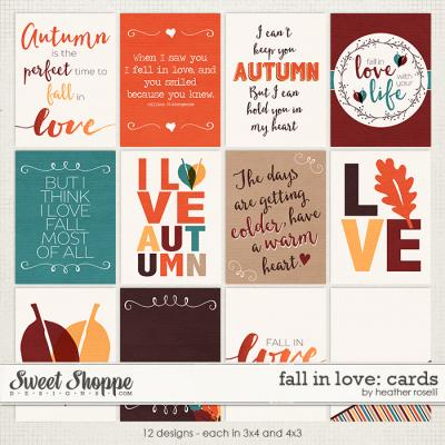 Fall in Love: Cards by Heather Roselli