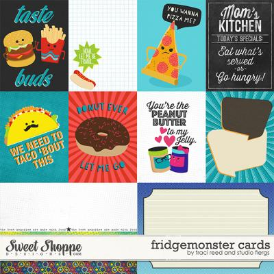 fridge monster: cards by Traci Reed & Studio Flergs