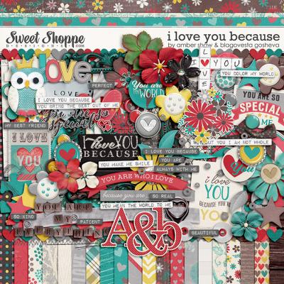 I Love You Because by Amber Shaw & Blagovesta Gosheva