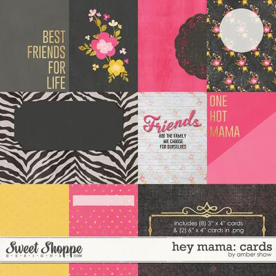 Hey Mama Cards by Amber Shaw