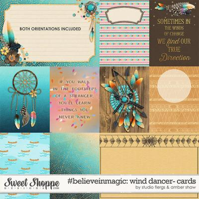 #believeinmagic: Wind Dancer Cards by Amber Shaw & Studio Flergs