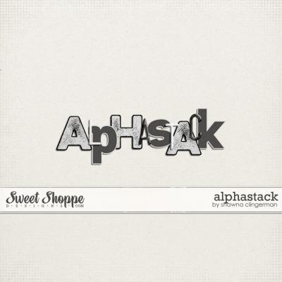 Alphastack by Shawna Clingerman