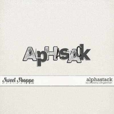 Alphastack by Shawna Clingerman