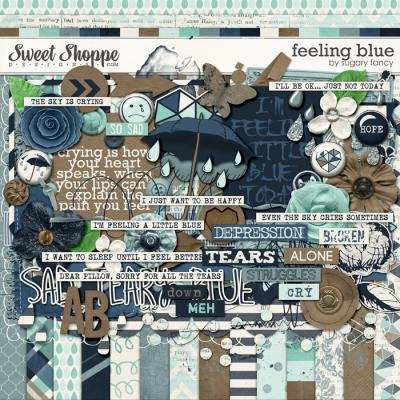 Feeling Blue Kit by Sugary Fancy
