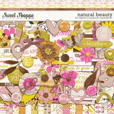 Natural Beauty by Digital Scrapbook Ingredients