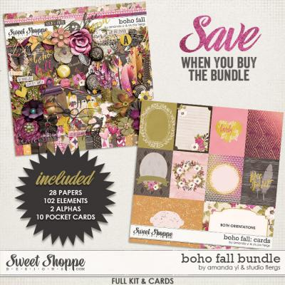 Boho Fall : Bundle by Amanda Yi & Studio Flergs