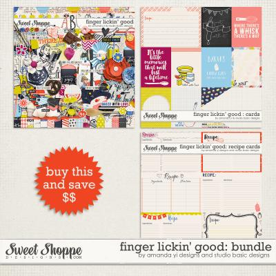 Finger Lickin' Good : Bundle by Amanda Yi & Studio Basic Designs