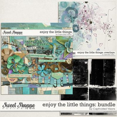 Enjoy the little things: Bundle by Captivated Visions