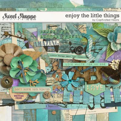 Enjoy the little things by Captivated Visions