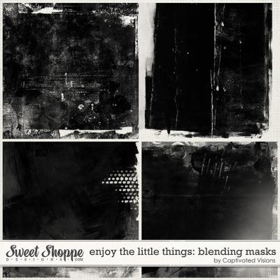 Enjoy the little things: Blending Masks by Captivated Visions