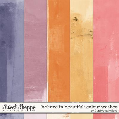 Believe in beautiful: Colour Washes by Captivated Visions