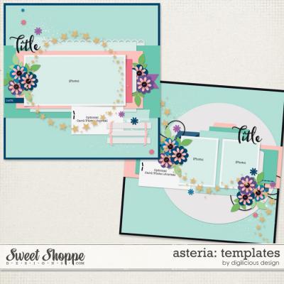 Asteria {Templates} by Digilicious Design