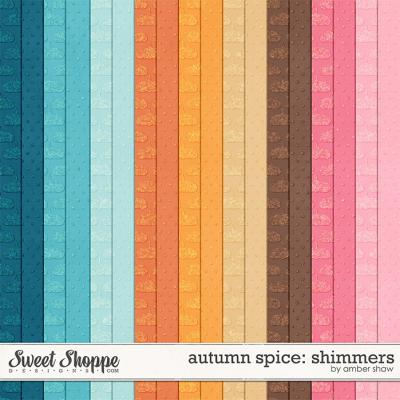 Autumn Spice: Shimmers by Amber Shaw