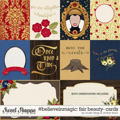 #believeinmagic:  Fair Beauty Cards by Amber Shaw & Studio Flergs