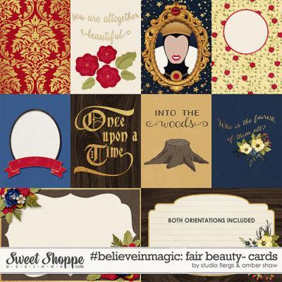 #believeinmagic:  Fair Beauty Cards by Amber Shaw & Studio Flergs