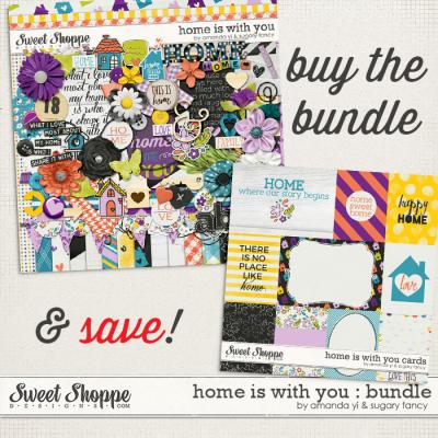 Home Is With You : Bundle by Amanda Yi & Sugary Fancy