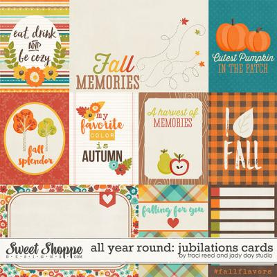 All Year Round: Jubilations Cards by Traci Reed & Jady Day Studio