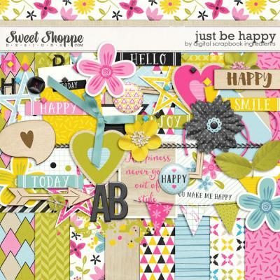 Just Be Happy by Digital Scrapbook Ingredients