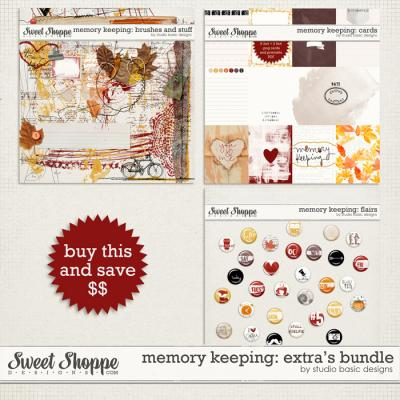 Memory Keeping: Extra's Bundle by Studio Basic