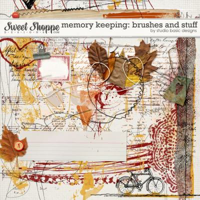 Memory Keeping: Brushes And Stuff by Studio Basic